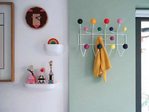 Garderobe Hang it all, weiß, Mehrfarbig
