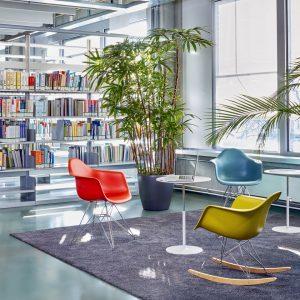 Vitra - Eames Plastic Chair DAR, Gestell verchromt