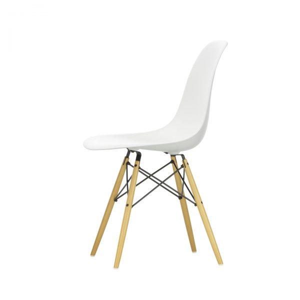 Vitra - Eames Plastic Chair DSW, Gestell Ahorn gelblich
