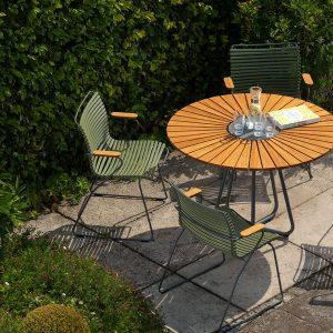 Click Dining Chair, ohne Armlehnen