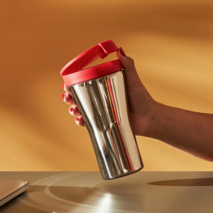 Caffa, doppelwandige Travel Mug aus Edelstahl